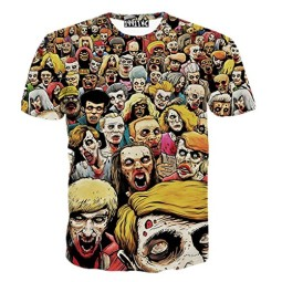 FaPlus-Mens-Fashion-Lifelike-Zombies-Print-3D-Short-Sleeve-T-Shirts-0